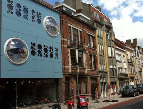 Fietsboetiek Gino Carts & Bikes in de Belle Epoque Wijk