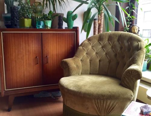 The Living Room #vintagecrush