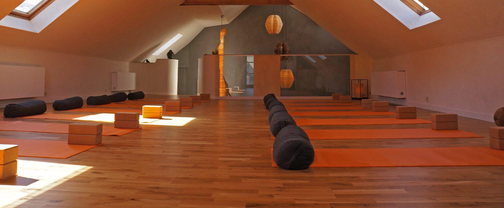 Open ruimte De Loft voor yoga, meditatie en meer