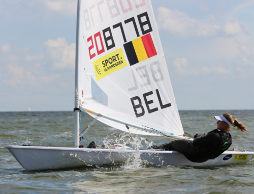 Sporty Queen Emma over zeilen in Oostende en ver daarbuiten