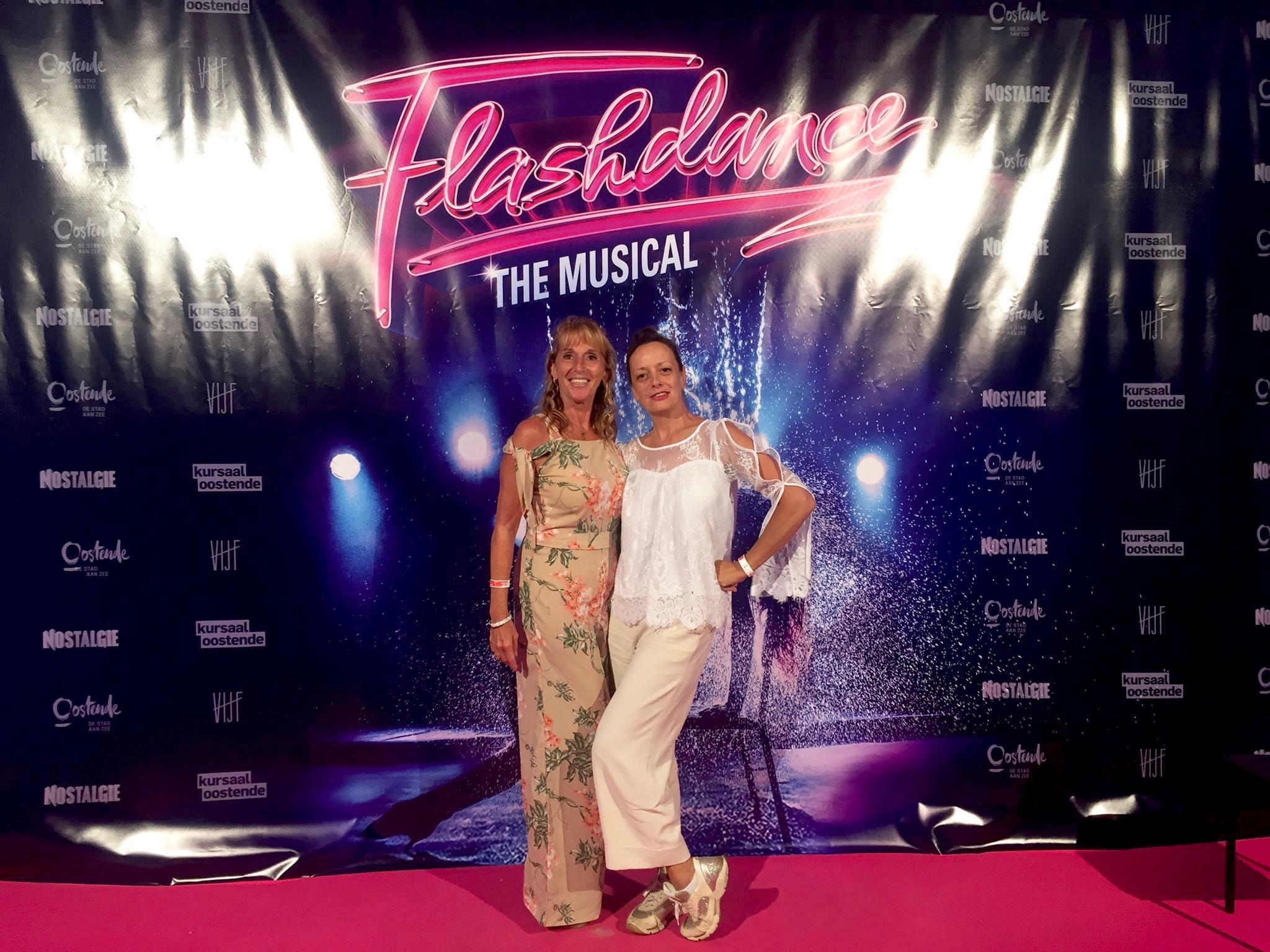 Ostend City Queens bij Flashdance in Kursaal Oostende