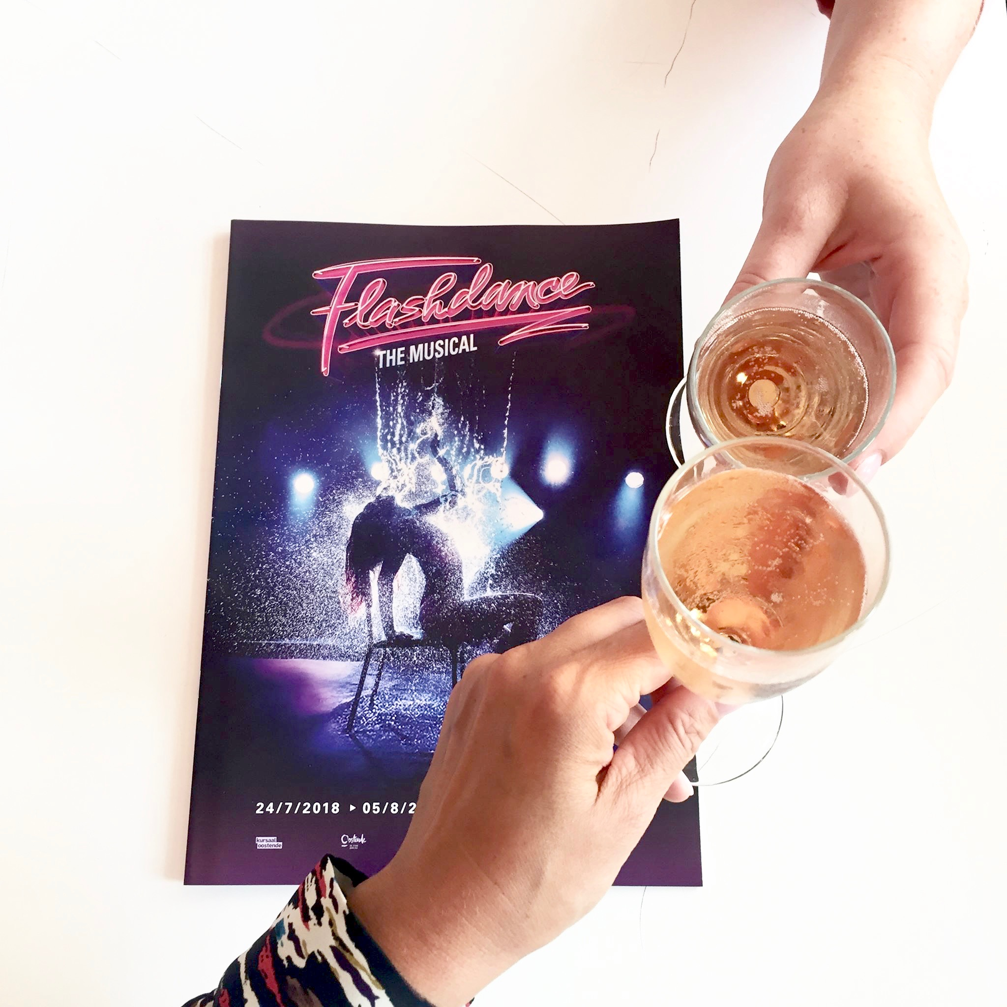 Flashdance musical Kursaal Oostende