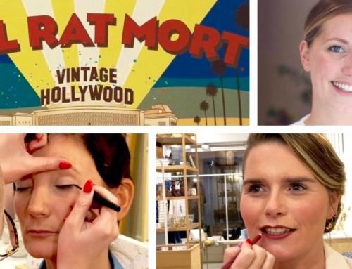 Vintage Hollywood Make-over: deel 2 MAKE-UP