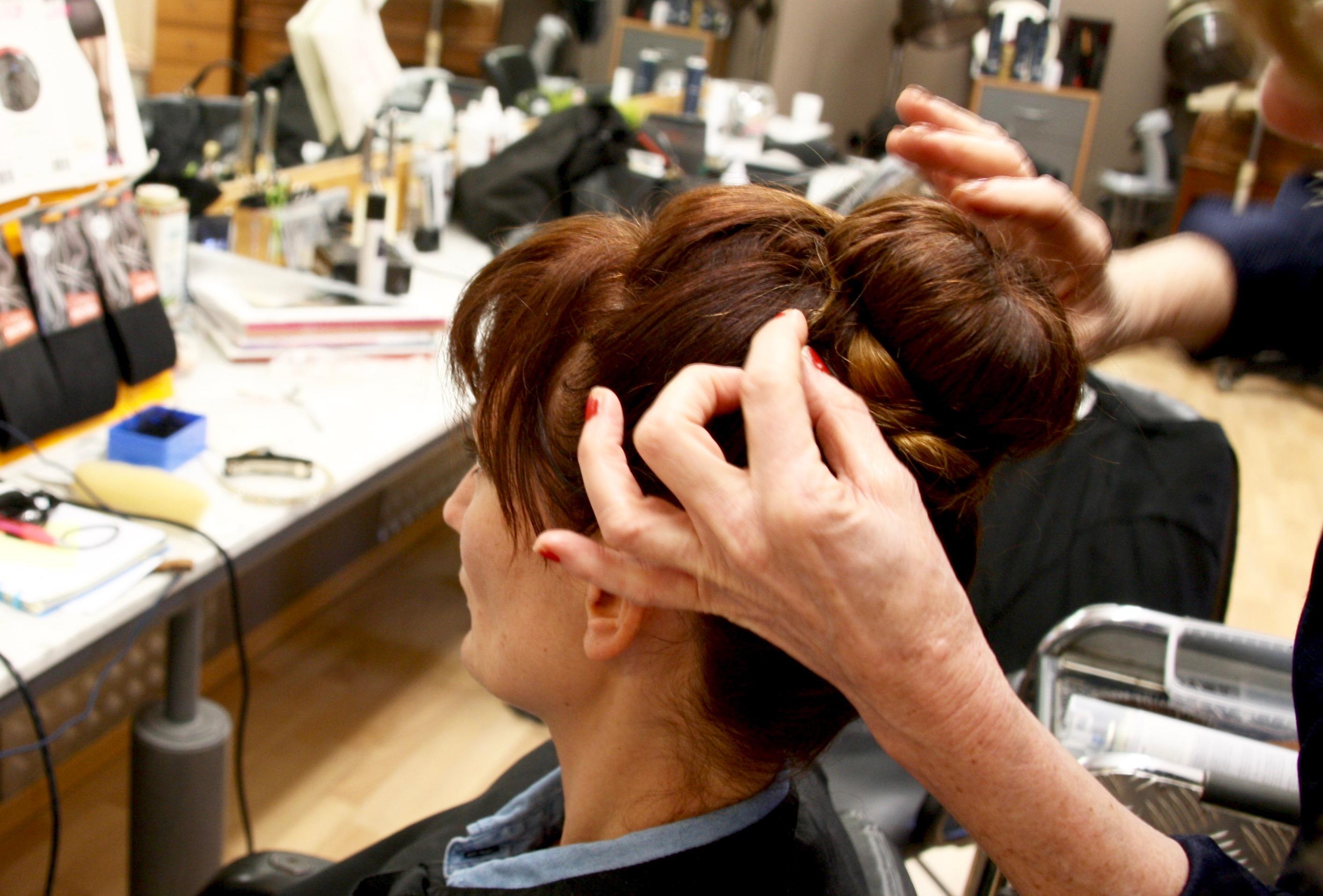 Hollywood Make-over Kapsalon Voque Bal Rat Mort Audrey Hepburn Kursaal Oostende