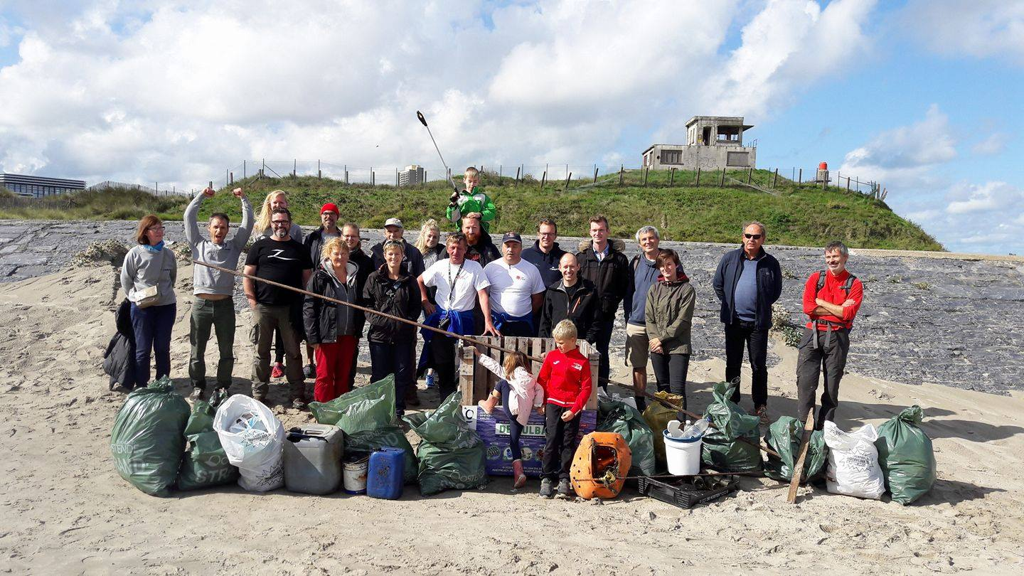 Data in maart 2019 geocachen Oostende