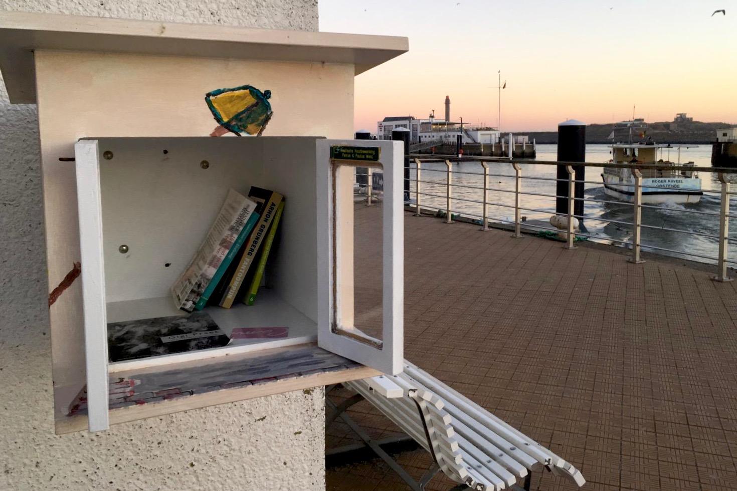 De witte zee Eva Cox boeken Oostende