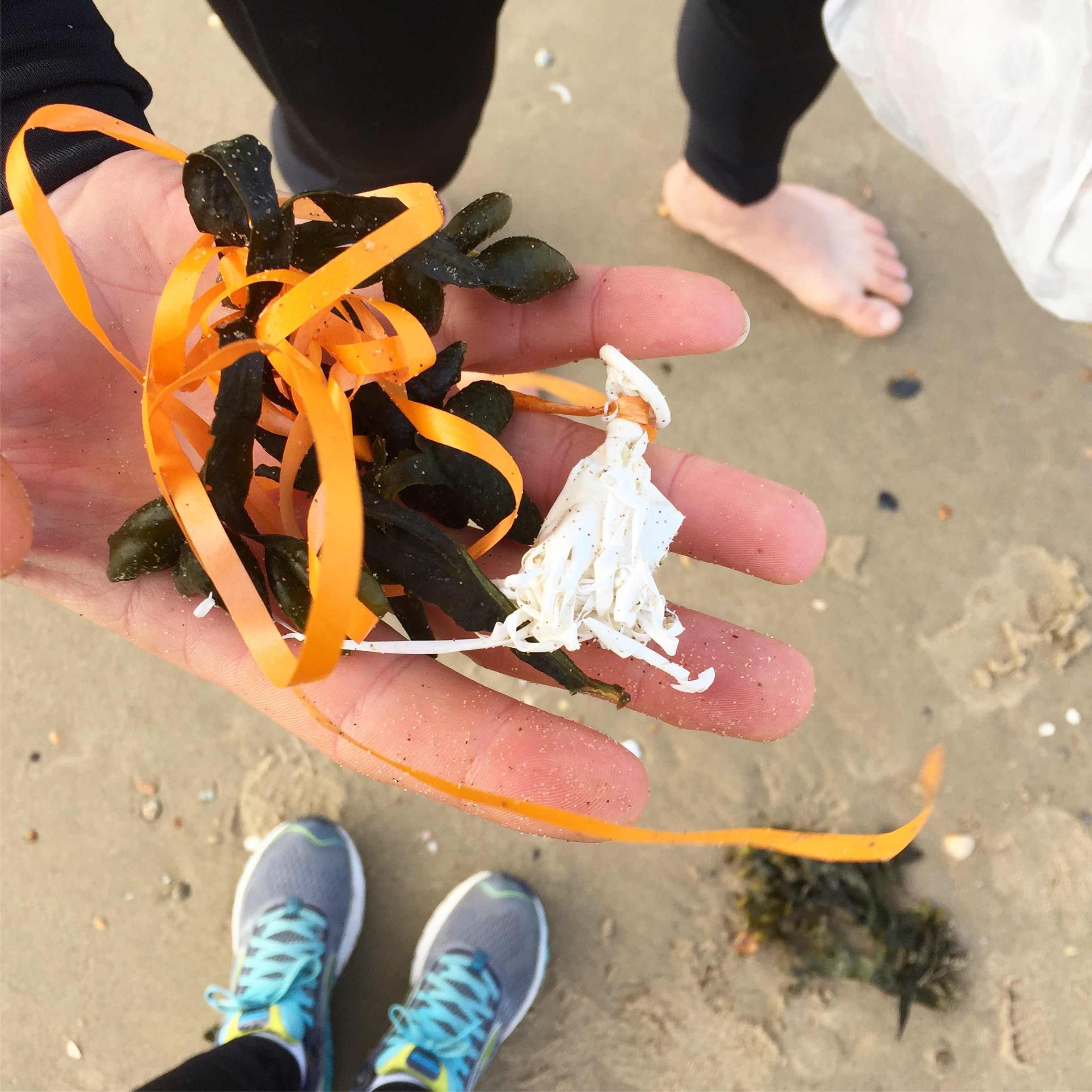 Plastic op het strand Proper Strand Lopers