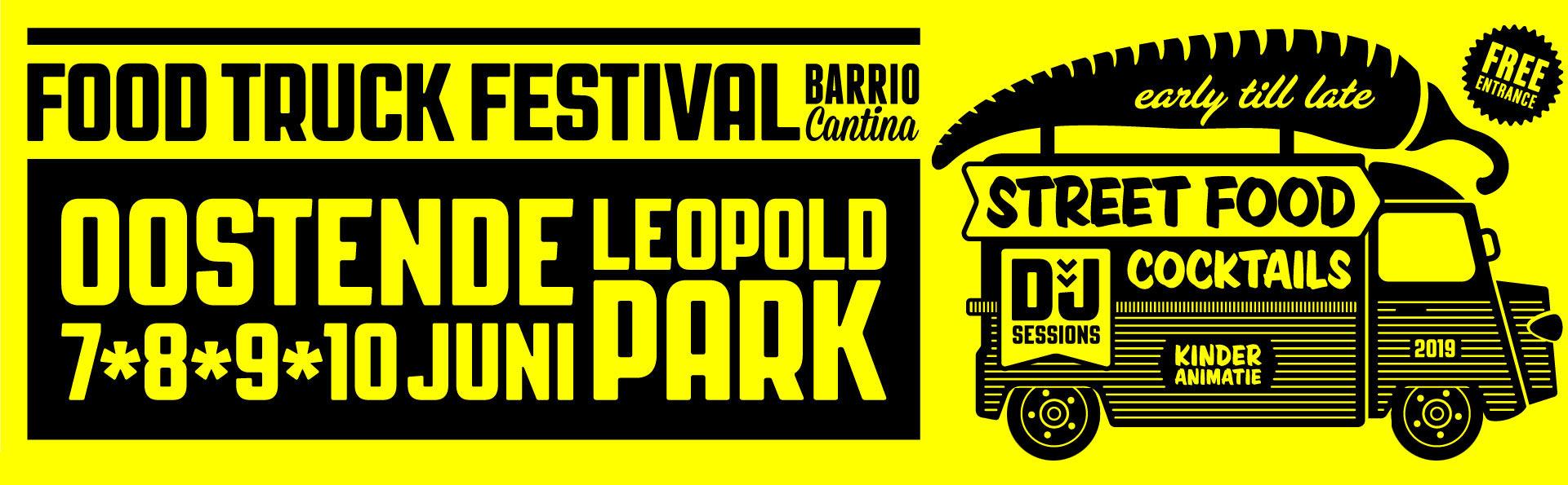 Barrio Cantina Juni 2019 Oostende Leopoldpark