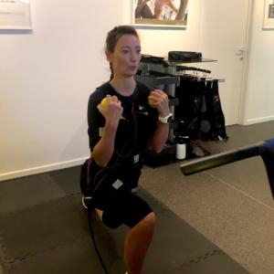 Ostend City Queen Karin test de Miha Bodytec electrostimulatie afslankingsinstituut La Forma Oostende