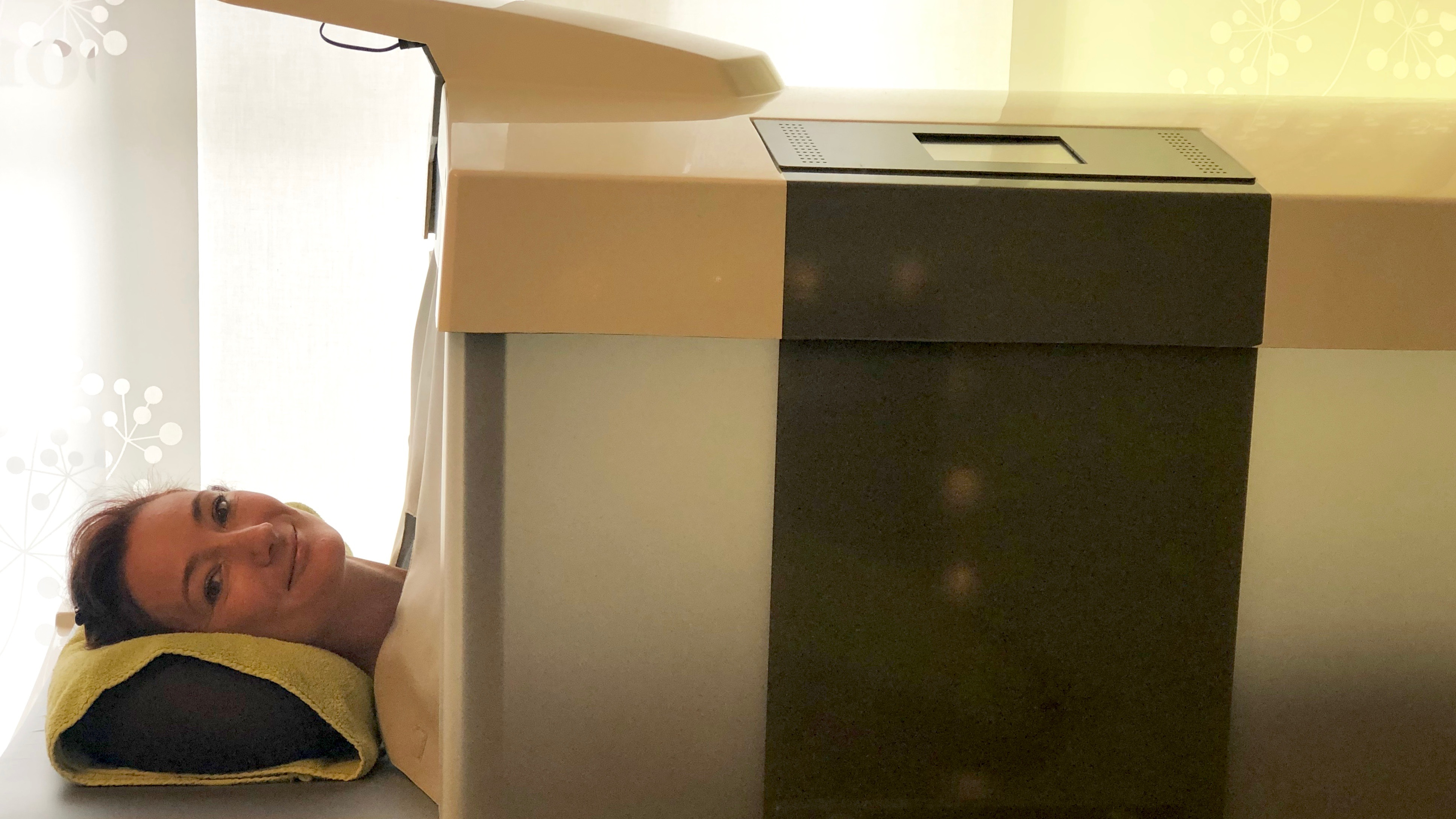 Ostend City Queen Karin test de infraroodcabine Inovo afslankingsinstituut La Forma Oostende