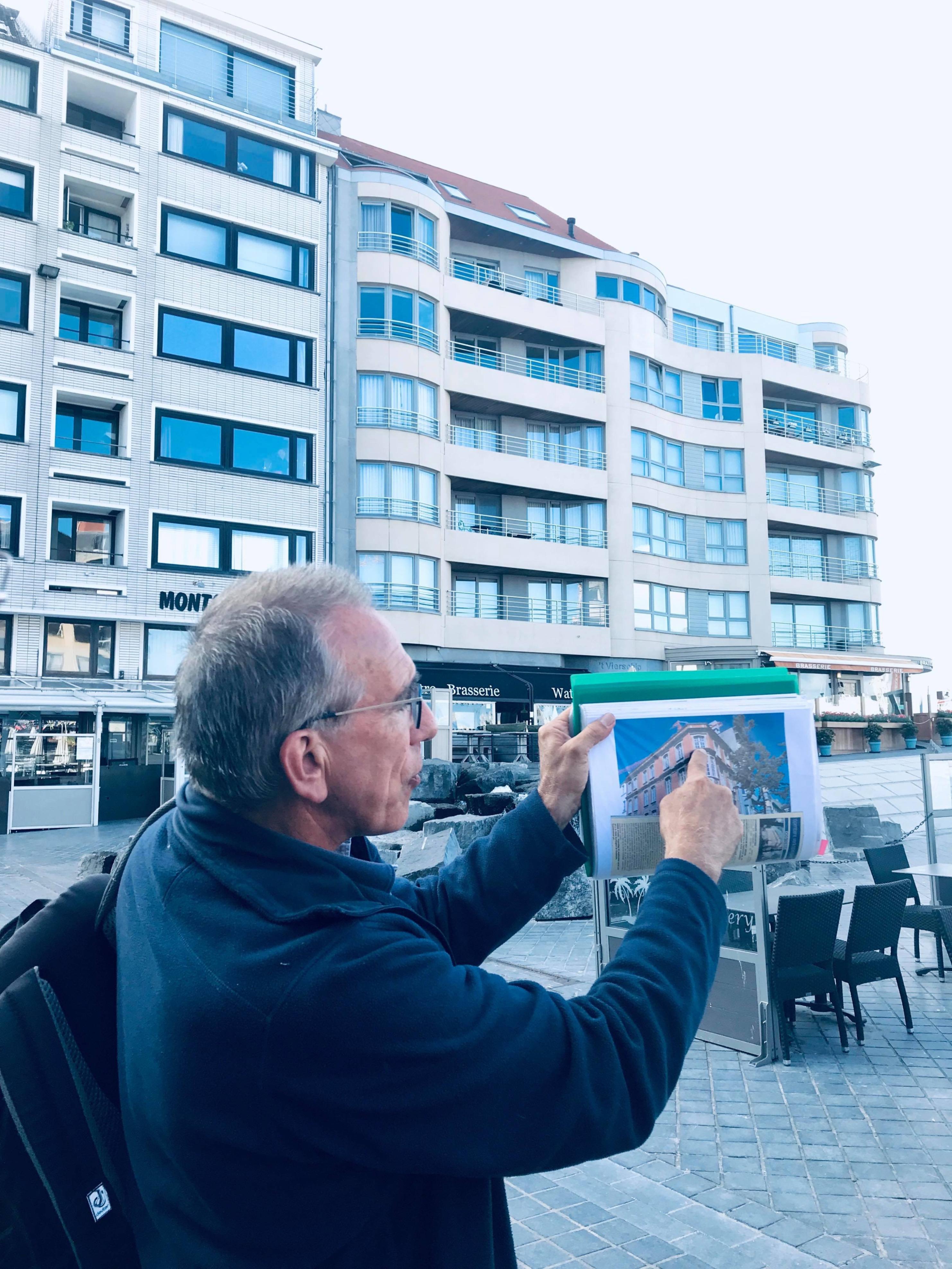 Op stap met Dirk van Gidsenkring Lange Nelle in Oostende