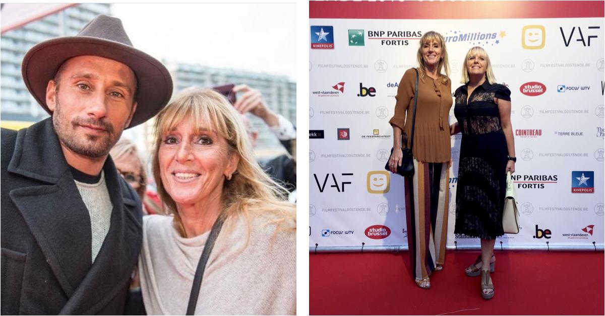 Anne tijdens het Filmfestival Oostende