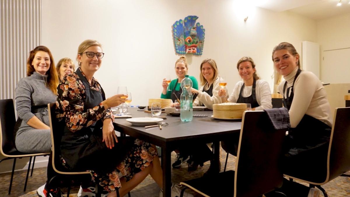 Kookworkshop met Ostend City Queens bij Kim's Kitchen
