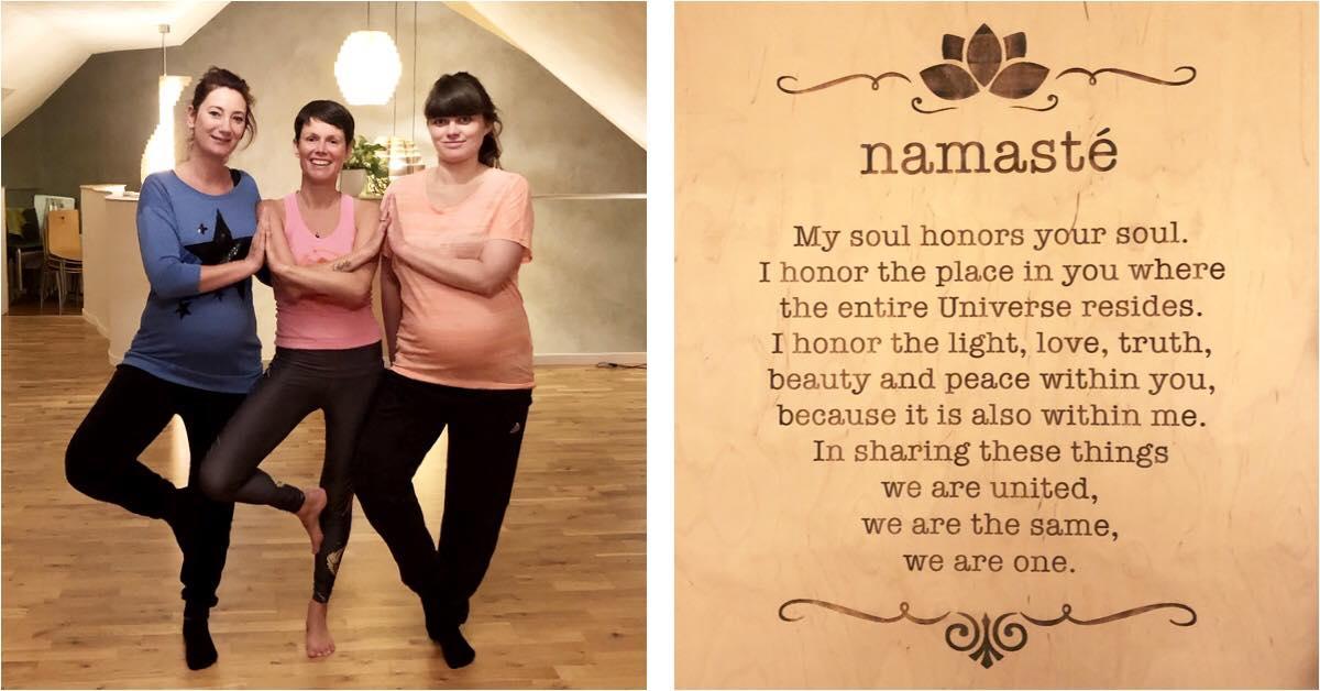 Zwangerschapsyoga met Julie Mithra Yoga houd je fit